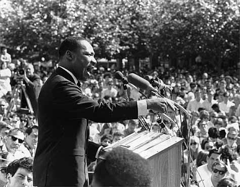 Dr martin luther king jr and the injustice in america